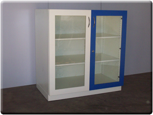 Wall Storage Cupboards Are Available With Sliding Glass Doors Hinged Glass  Doors Or Complete Metal Hinged Doors. Storage Cupboards Are Provided With  Two ...